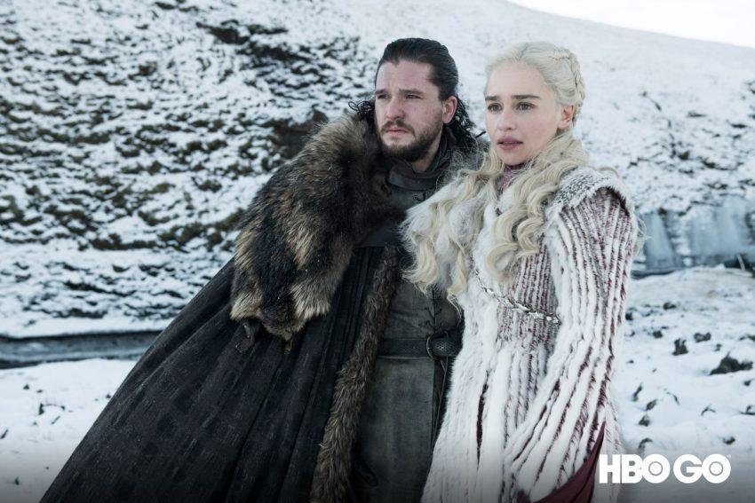 Jon és Daenerys a Trónok harca 8. évadában