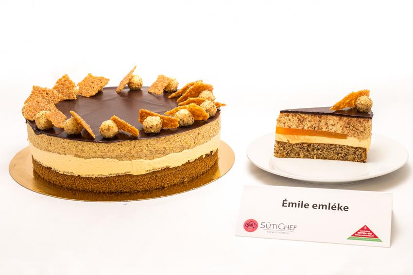 A 2019-es ország tortája verseny egyik döntőse: Émile emléke