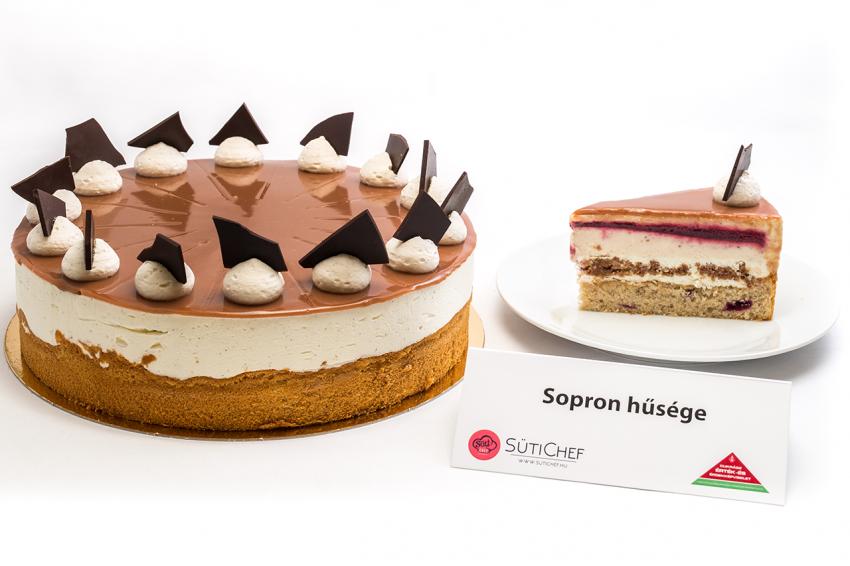 A 2019-es ország tortája verseny egyik döntőse: Sopron hűsége