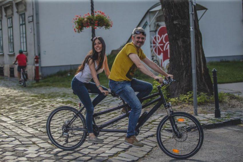 Óbudai randi kerékpárral
