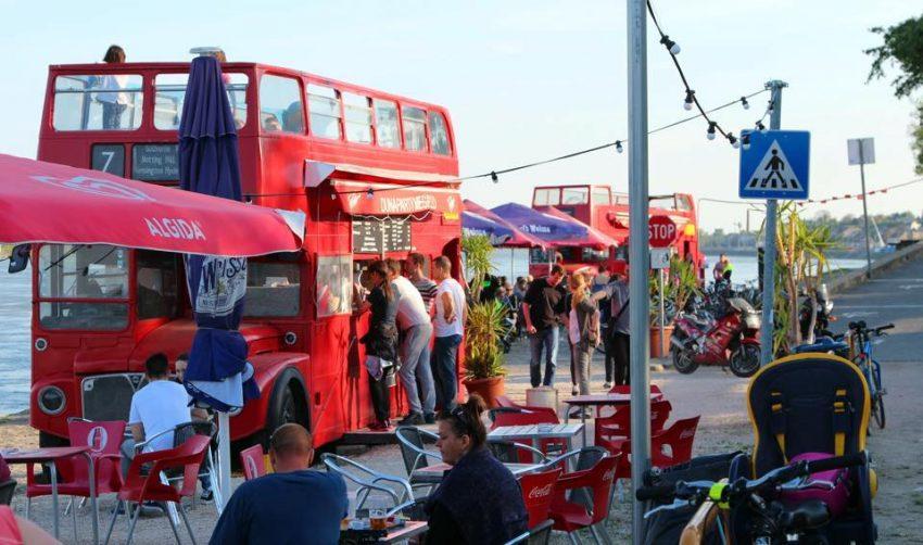Ahol a legjobb a street food: Dunaparty Megálló
