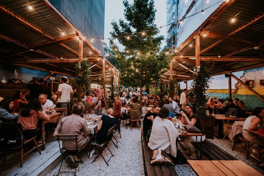 Teraszos étterem Budapest: Tereza