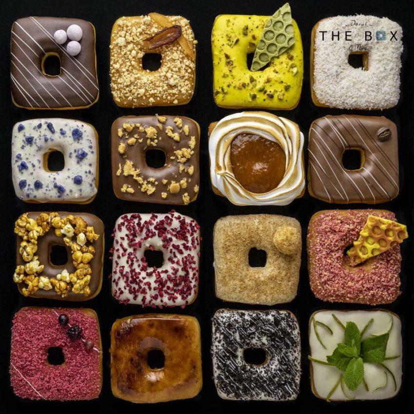 Különleges ízesítésű kockafánkjairól híres a The Box Donut