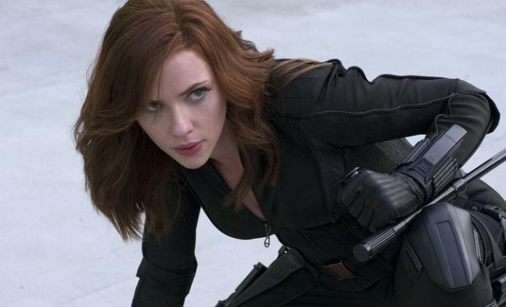 Képek is készültek a Budapesten forgató Scarlett Johanssonról