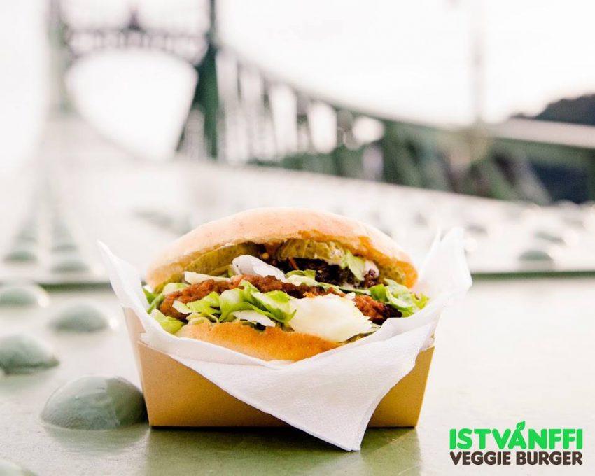 A húsmentes burger: Isvánffi