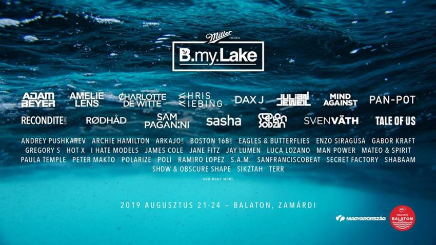 B my Lake Festival 2019 Official Event (2019. augusztus 21-24., Zamárdi)