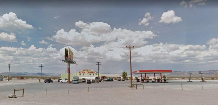Area 51 Alien Center, azaz 51es körzet center - Itt lenne a találkozó