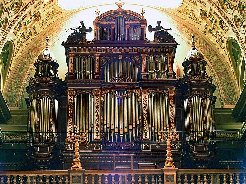 Peter Planyavsky (Ausztria) orgonakoncertje (Tihany)