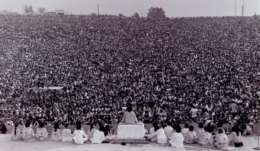 A Woodstock fesztivál megnyitója 50 évvel ezelőtt