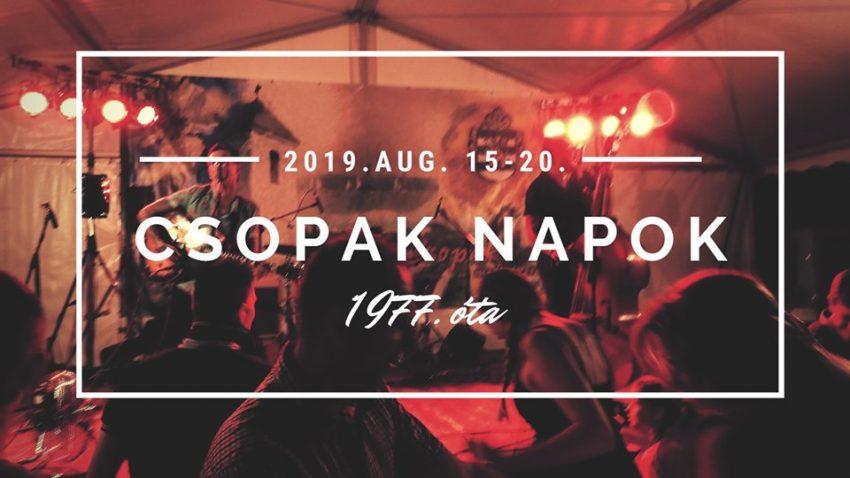 Csopak Napok: 1977 óta a Balaton egyik legnépszerűbb programja