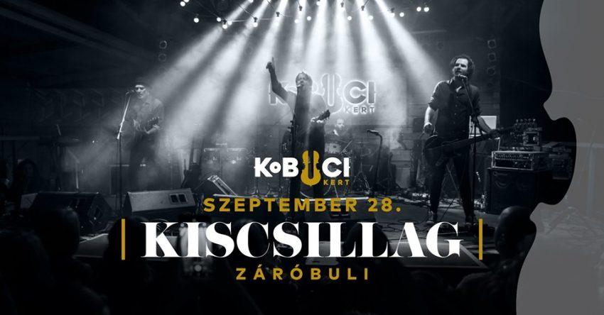 Kiscsillag koncert - Budapest, Kobuci Kert // Záróbuli