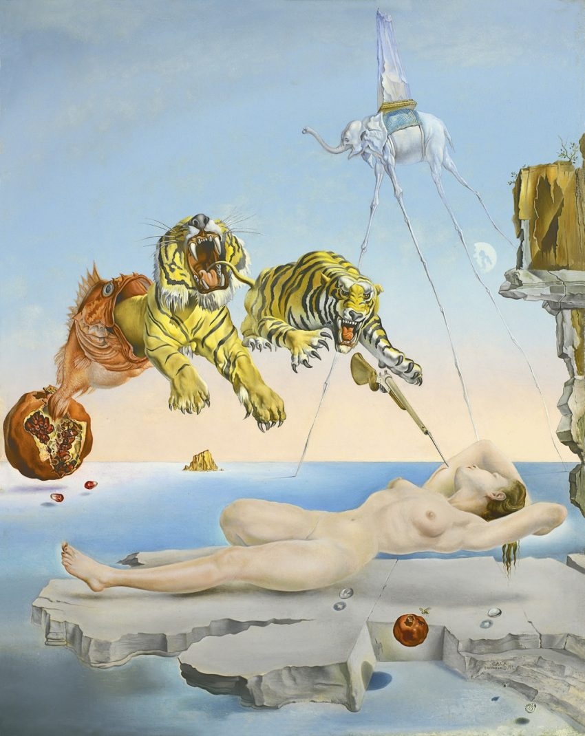 A szürrealista mozgalom Dalítól Magritte-ig - Magyar Nemzeti Galéria, Budapest