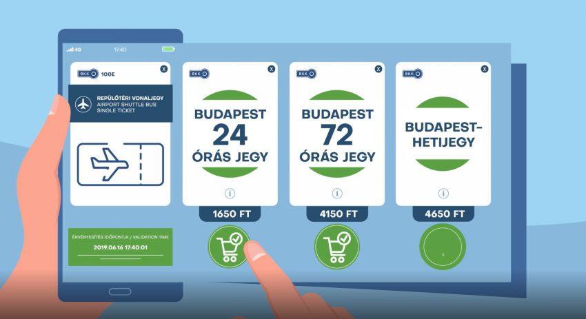BKK-mobiljegy