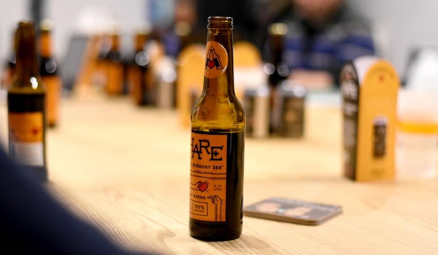 Íme az első jótékony sör