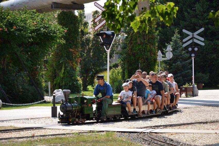 Családi program Budapesten: Magyar Vasúttörténeti Park