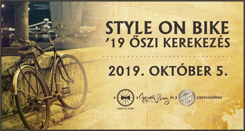 Egy csodás szombati program: Style On Bike // őszi kerekezés (október 5.)