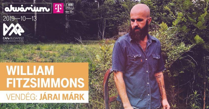 William Fitzsimmons, vendég: Járai Márk - Akvárium Klub