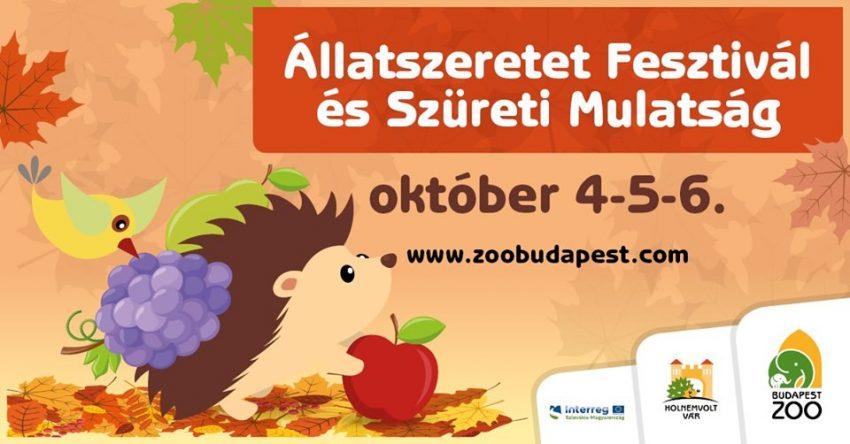 Állatszeretet Fesztivál és Szüreti Mulatság (október 4-5-6.)