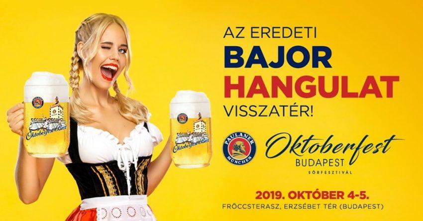 Hétvégi programok: Paulaner Oktoberfest Budapest(október 4-5.)