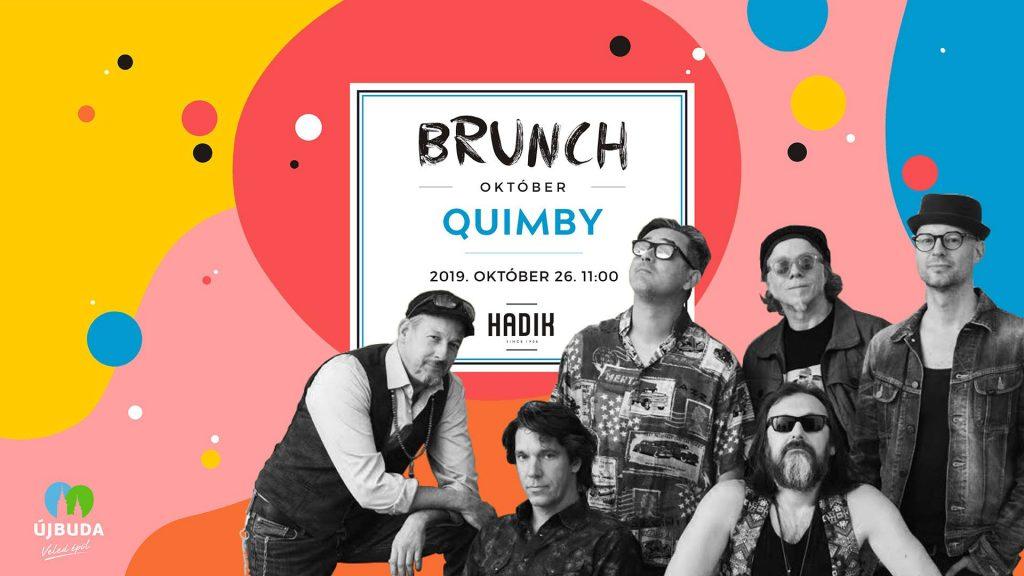 Szombati programok (Október 26.) : Brunch a Quimbyvel