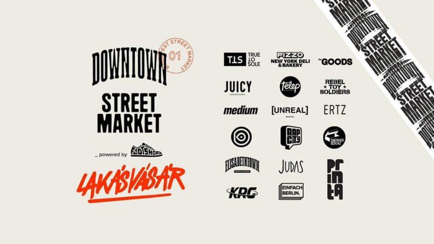 Szombati programok: Street Market x Lakásvásár
