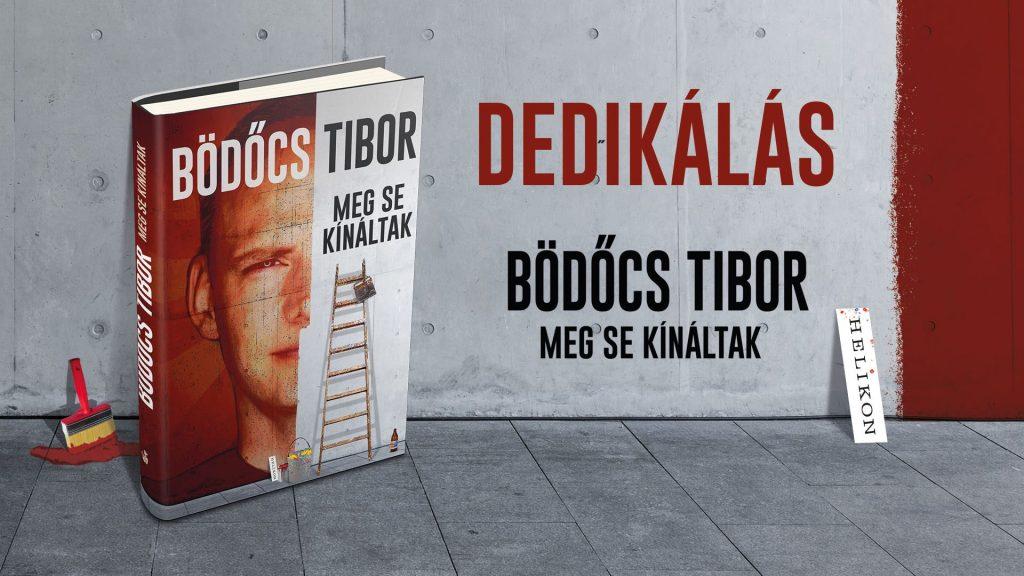 Bödőcs Tibor: Meg se kínáltak - dedikálás a Libri Mammutban