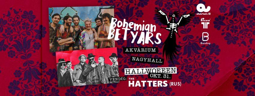 Bohemian Betyars Halloween, Akvárium (vendég: The Hatters)