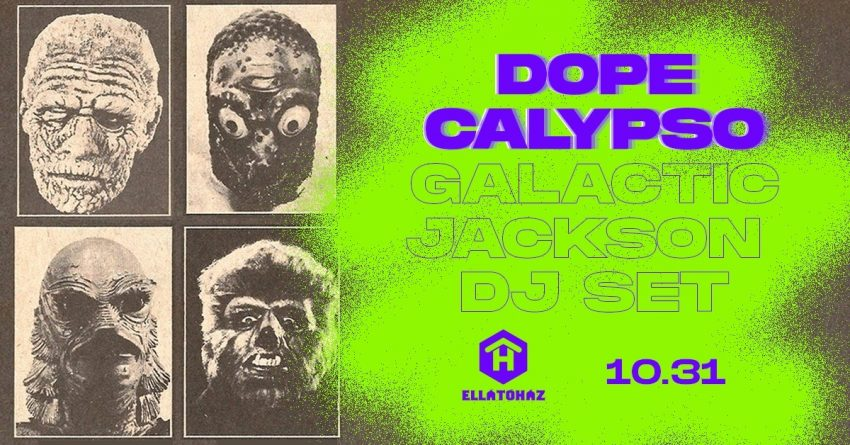 Dope Calypso Halloween party, ELLÁTÓház