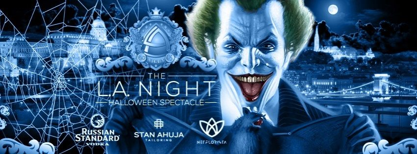 L.A. NIGHT Halloween Spectacle, Budapest Marriott Hotel