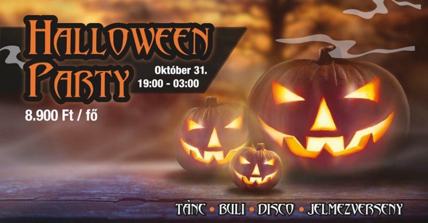 Halloween party az óbudai Trófea Grill Étteremben