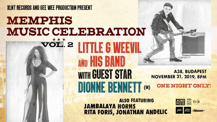Little G Weevil - Memphis Music Celebration / A38 Hajó, Budapest (November 21.)