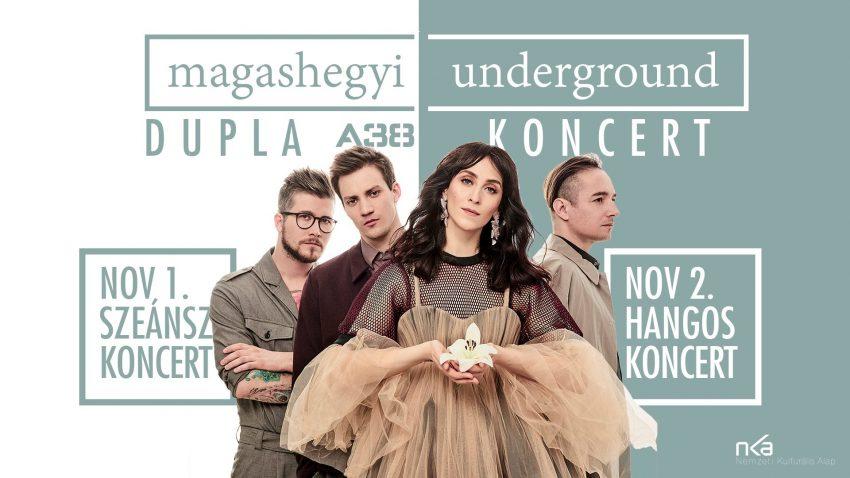 2019 novemberi programok Budapesten: Magashegyi Underground koncert