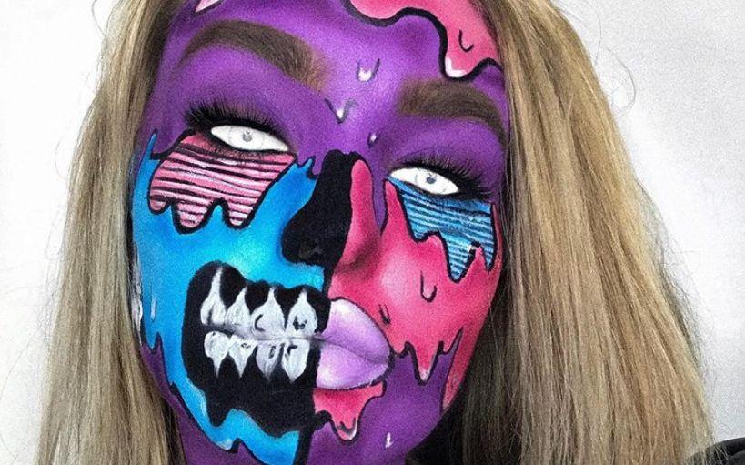 20+ zseniálisan rémisztő halloween smink