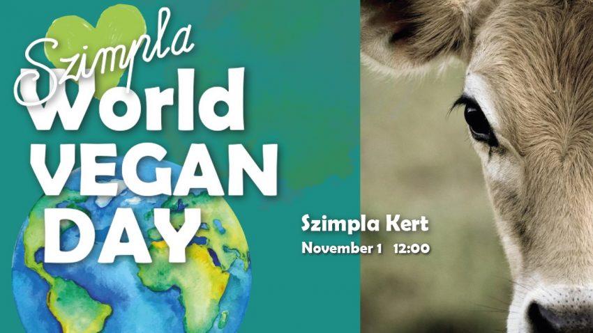 Budapesti programok 2019 november: World Vegan Day