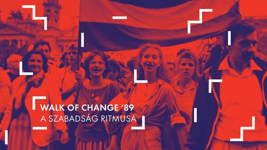 Egy különleges program Budapesten: Walk of Change '89 – A szabadság ritmusa