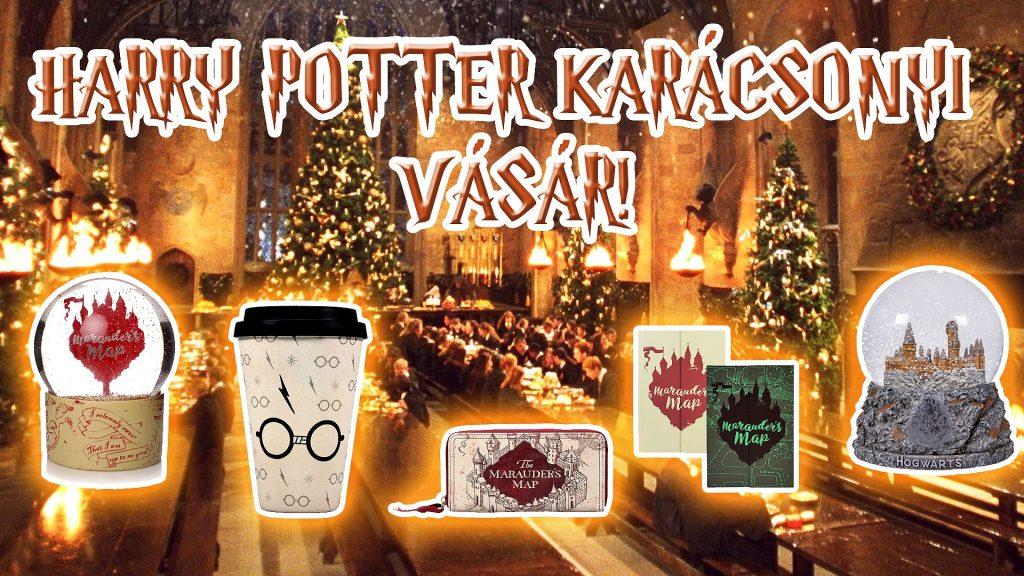 Ingyenen program a hétvégére: Harry Potter karácsonyi vásár