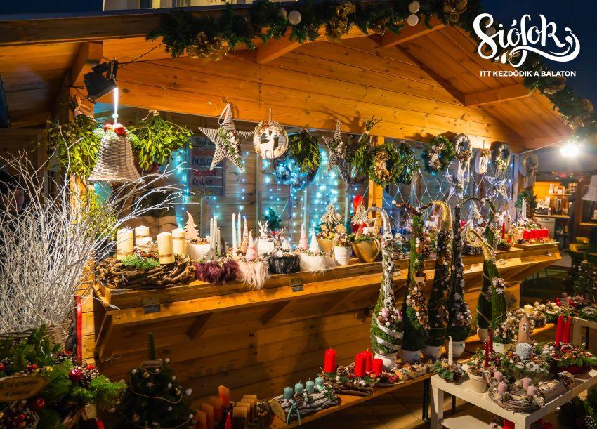 Balatoni programok 2019 december: Adventi vásár Siófokon
