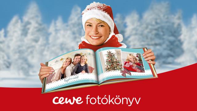 Egyedi karácsonyi ajándék nőknek és férfiaknak a CEWE-től
