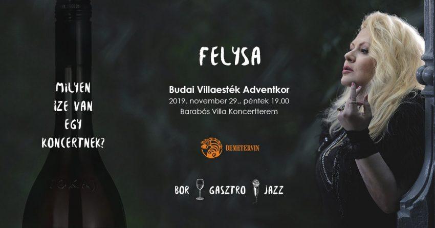 Hétvégi programok Budapesten: Felysa - Budai Villaesték Adventkor