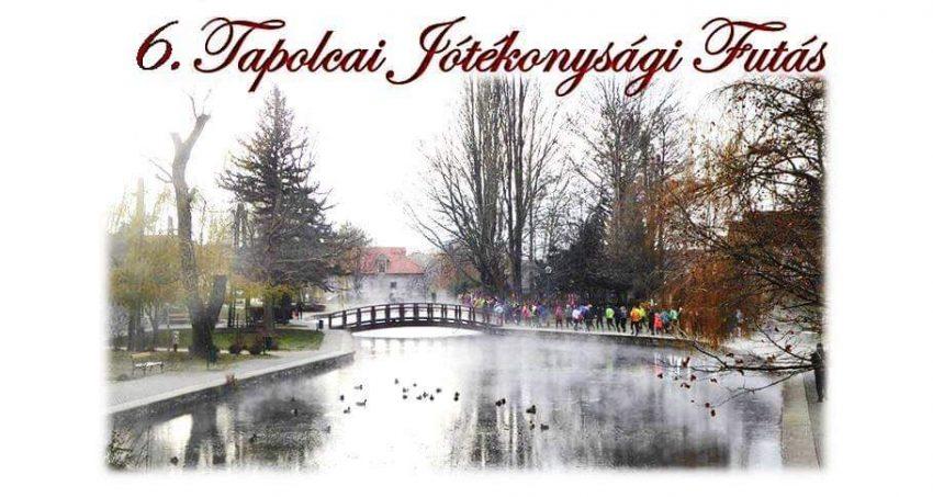 Adventi program a Balatonnál: 6. Tapolcai Jótékonysági Futás - 2019. december 15.