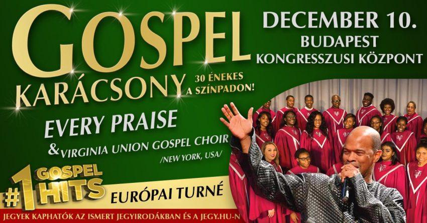 Adventi programok Budapesten: Gospel Karácsony