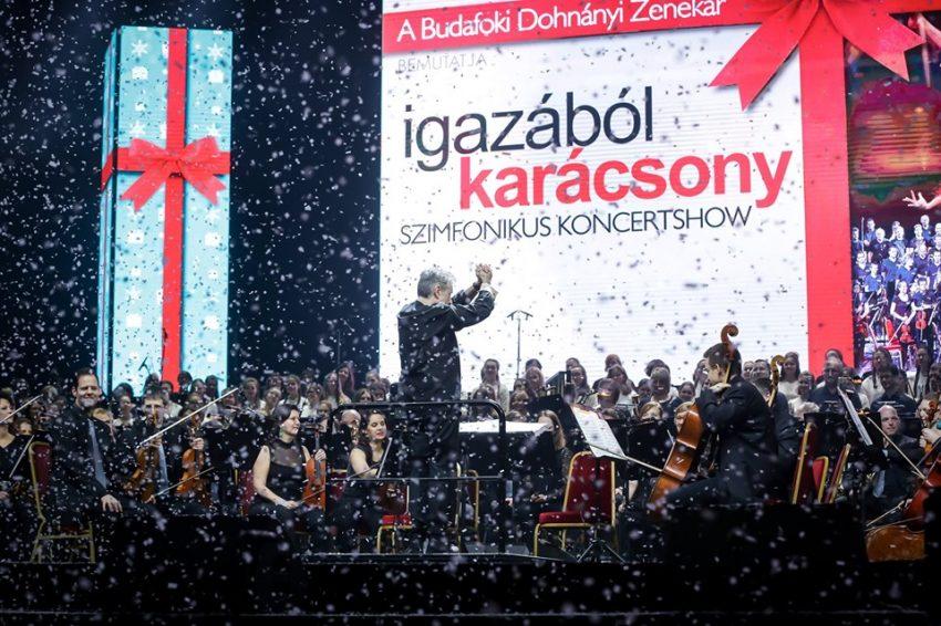 Karácsonyi programok Budapesten 2019: Igazából Karácsony - Szimfonikus Koncertshow – December 28.