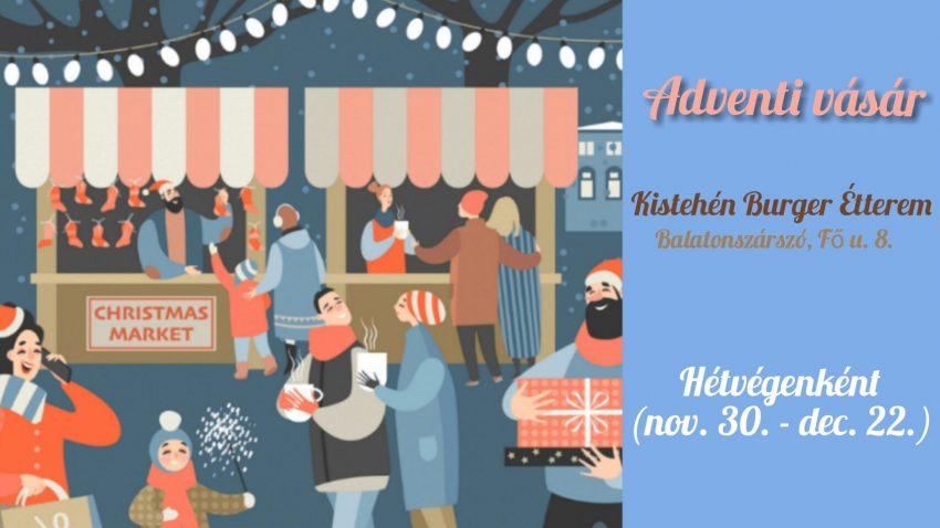 Balatoni programok 2019 december: Adventi vásár a Kistehénben
