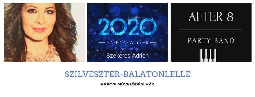Szilveszteri programok a Balatonnál: Szekeres Adrien koncert