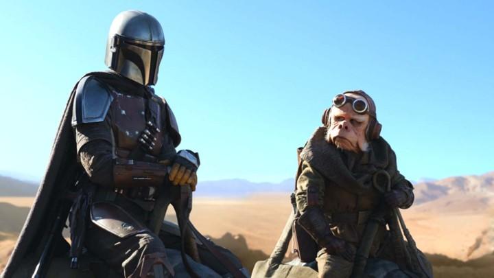 Részlet az új Star Wars-sorozat, a The Mandalorianból