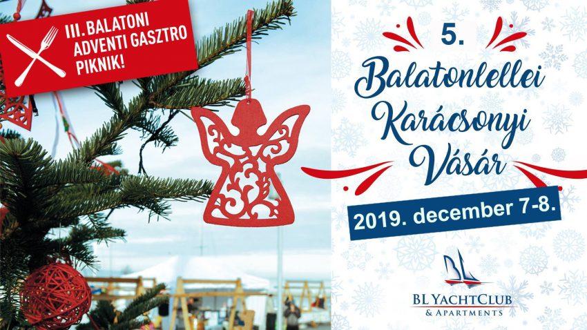 Adventi fesztivál Balatonlellén – 2019. december 7-8.
