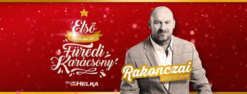 Első Füredi Karácsony Rakonczai Imrével – 2019. december 21.