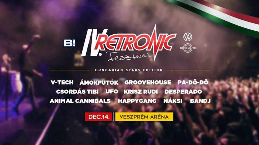 IV. Retronic Fesztivál - Hungarian Stars Edition - 2019. december 14., Veszprém
