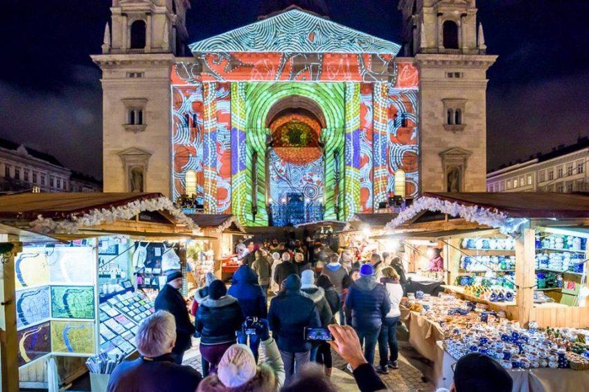 Karácsonyi vásár 2019 Bazilika, Budapest – November 22 – Január 1.