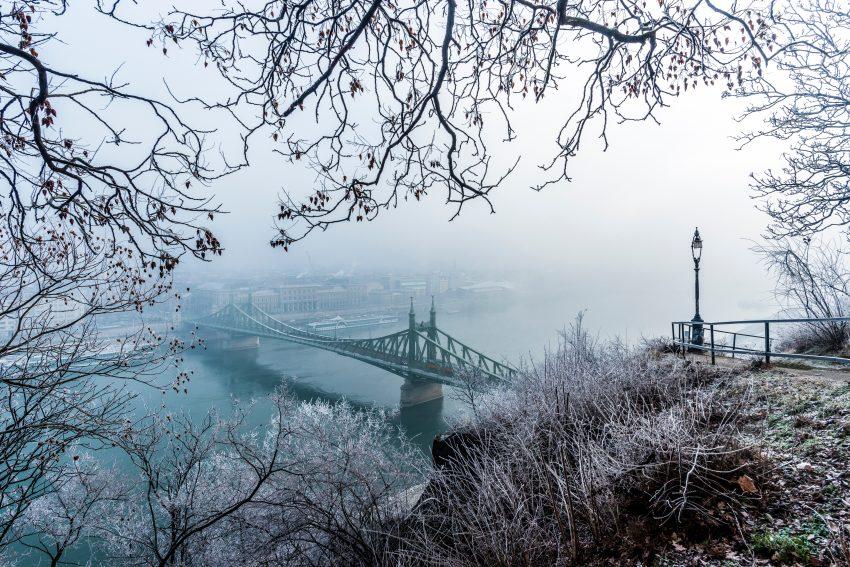 Oláh Dániel Unsplash Budapest Winter